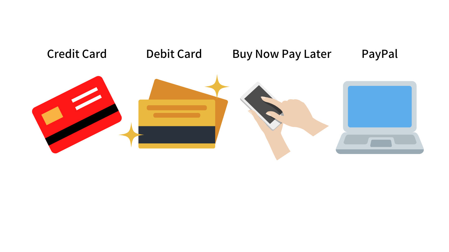 payment-options-credit-card-debit-card-buy-now-pay-later-paypal