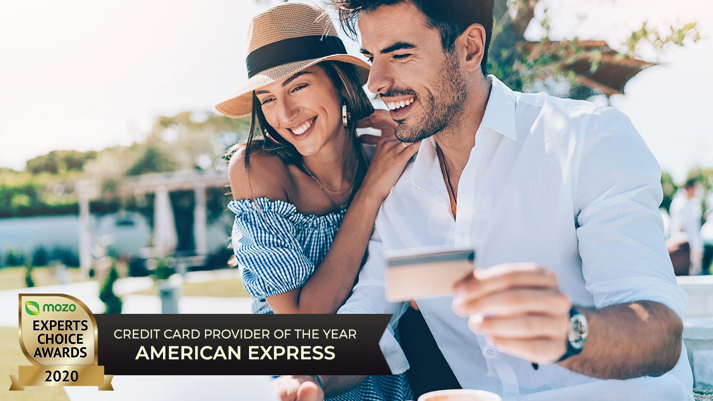 couple using american express card online