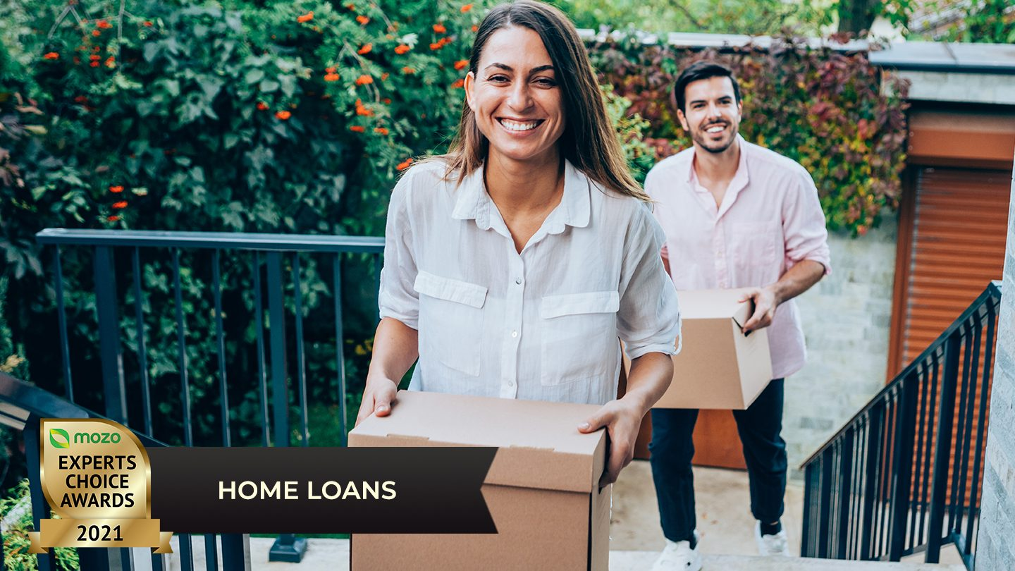 couple moving into new house bought with athena home loan