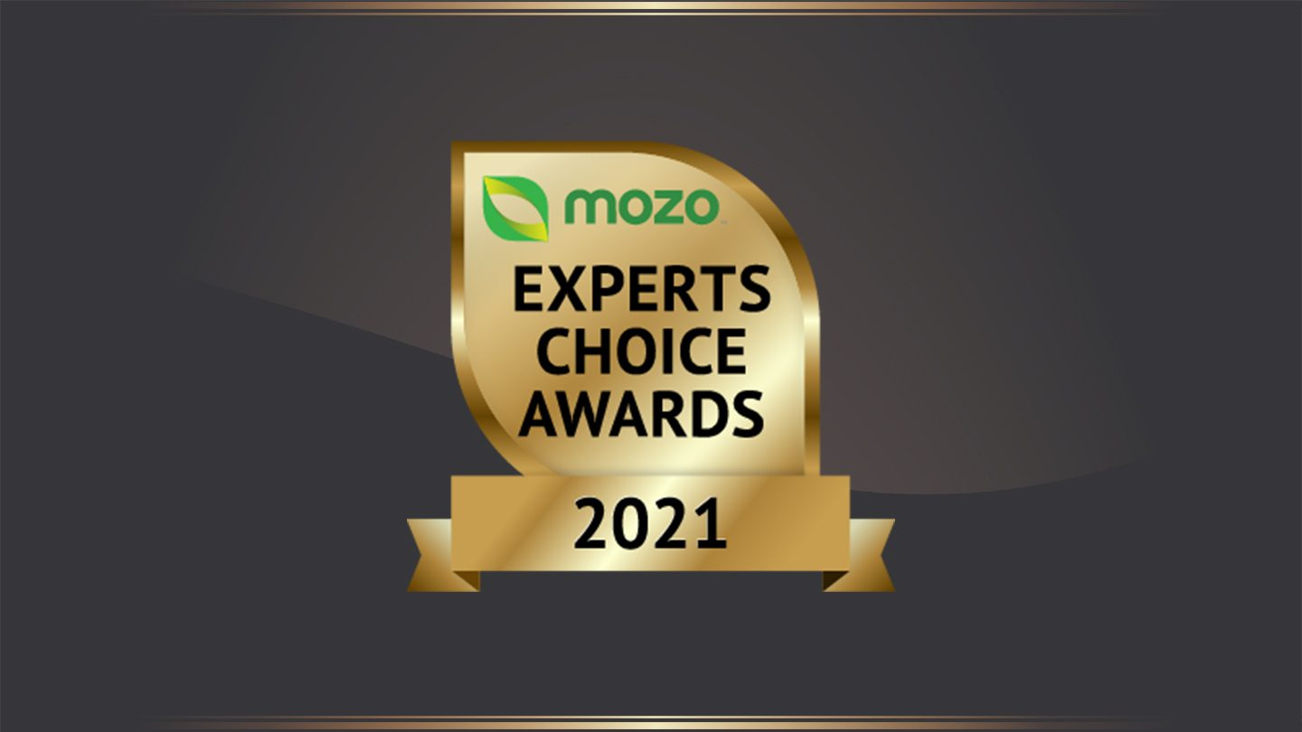 Graphic of Mozo Experts Choice Awards for Car Insurance.
