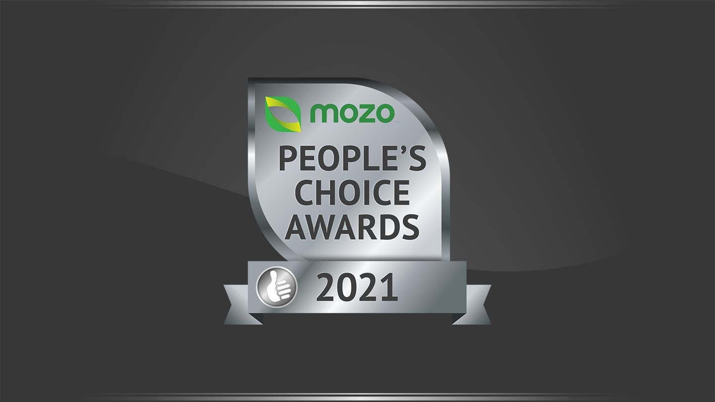 Graphic of Mozo People's Choice Awards for Car Insurance.