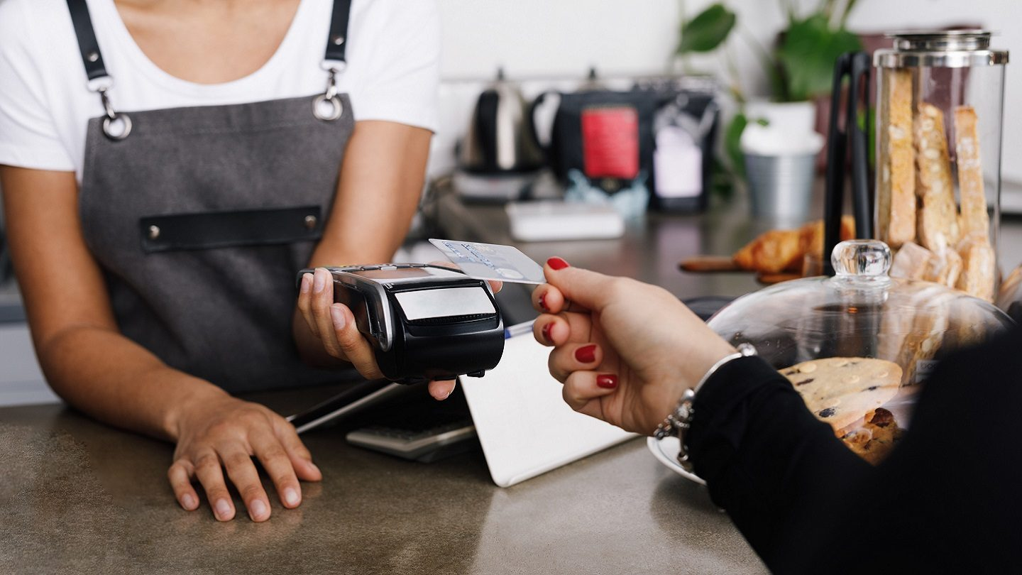Credit card payment in store