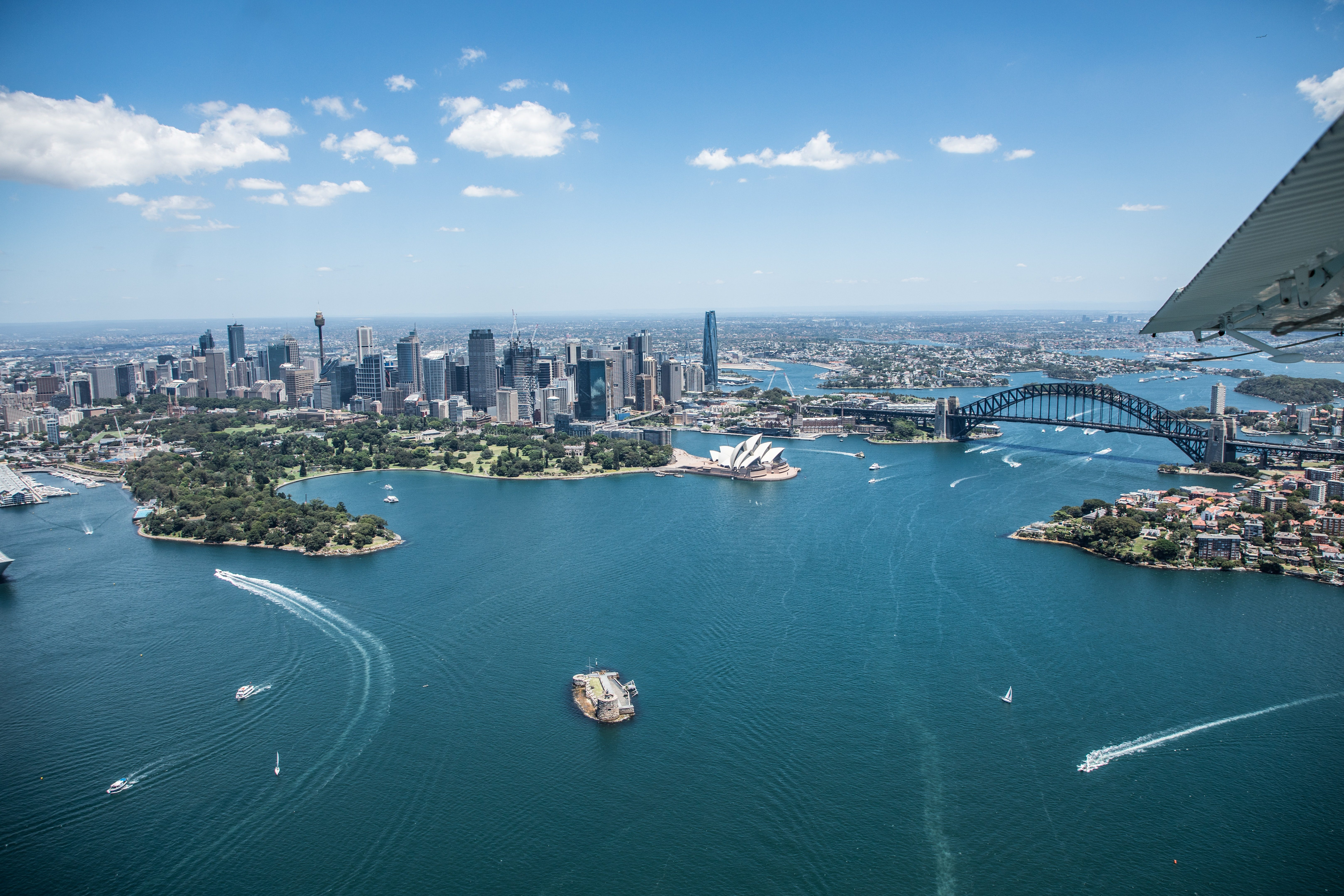 Properties by the nsw harbour