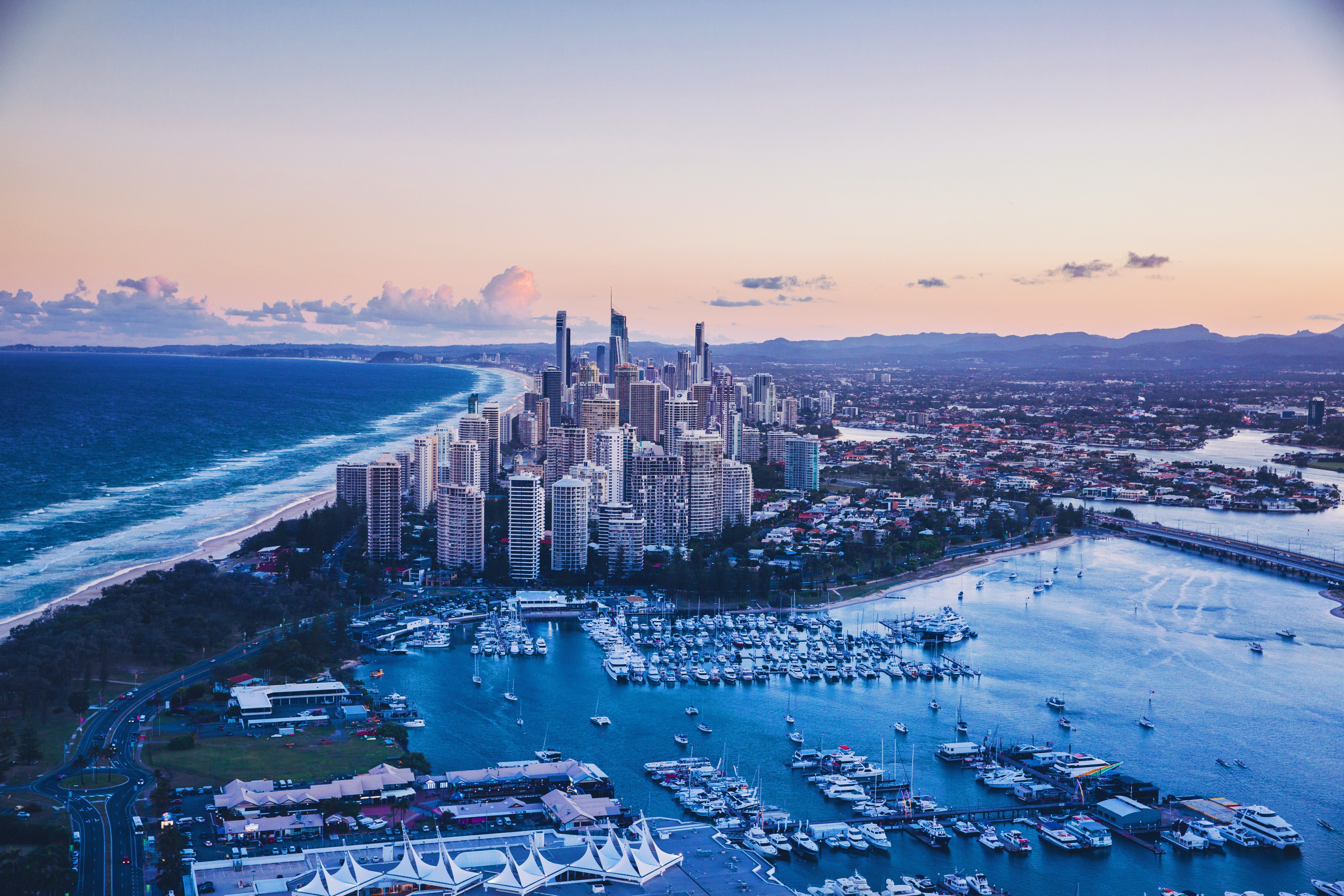 City of the gold coast in queensland