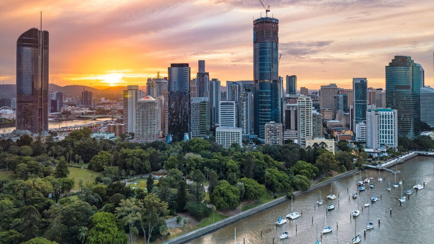 city skyline where property prices increase