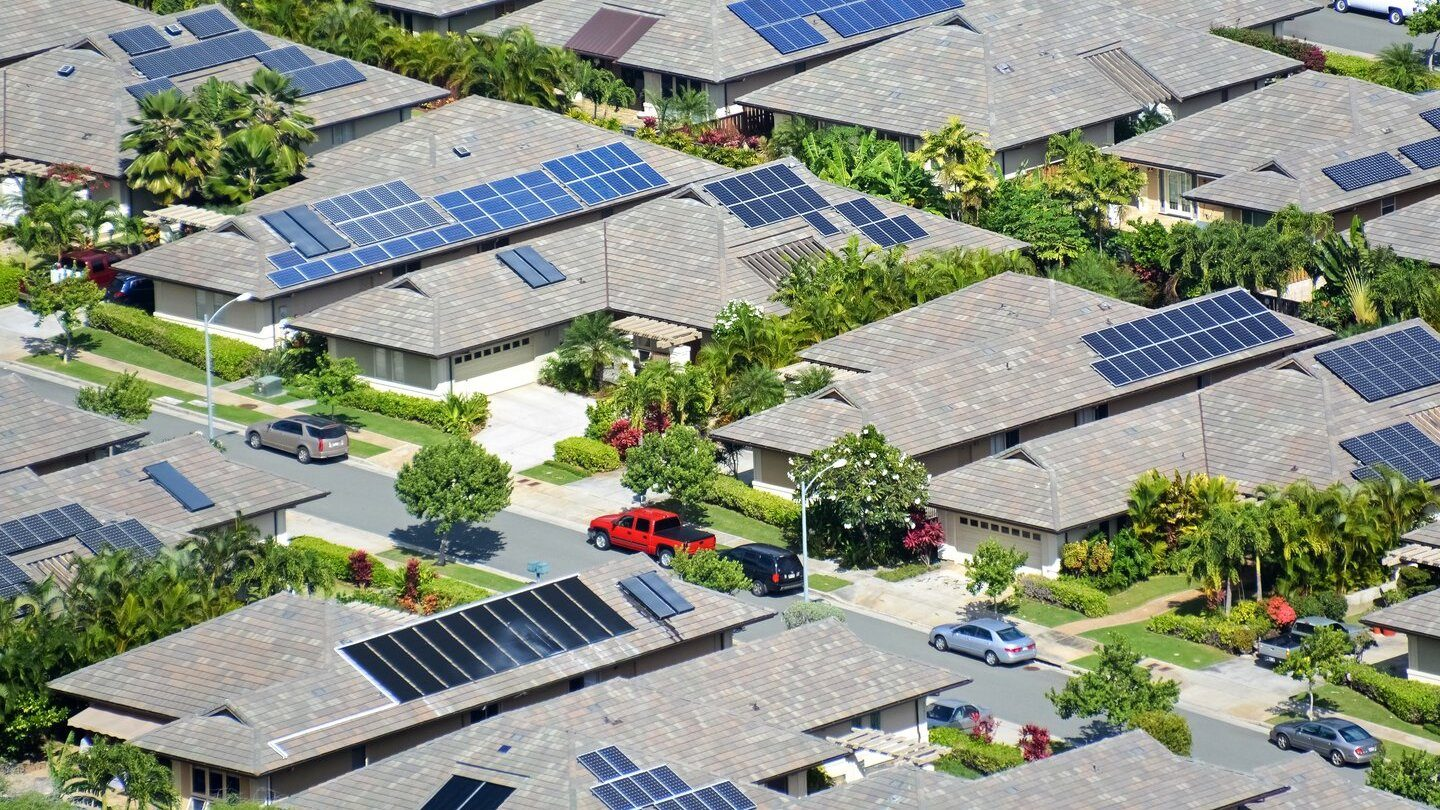 Homes using green loans to invest in solar panels
