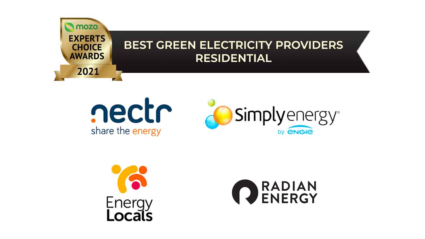best green electricity providers residential