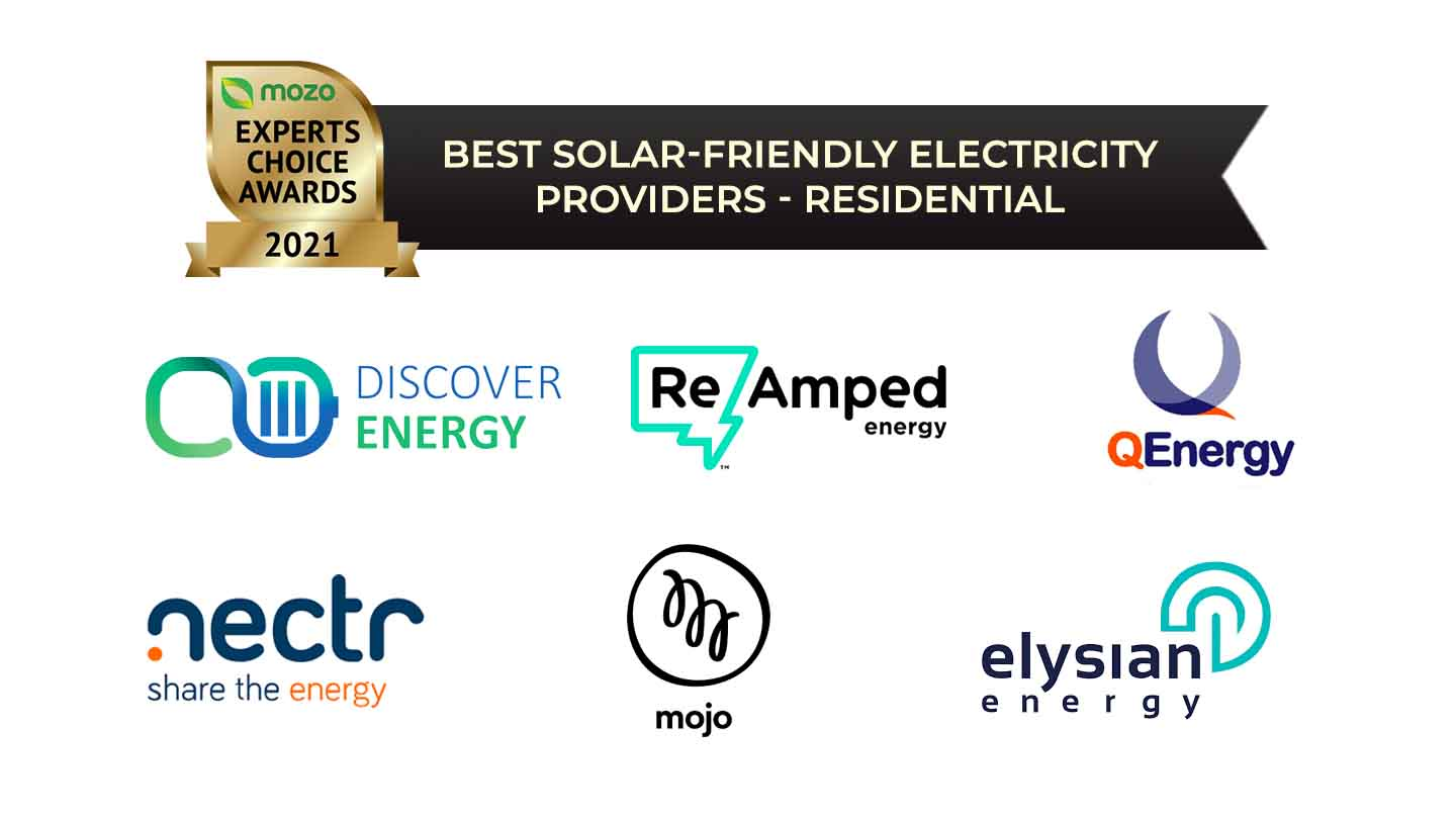 best solar friendly electricity provider residential winners