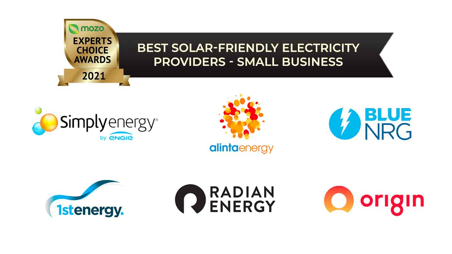 best solar friendly electricity providers small business winners