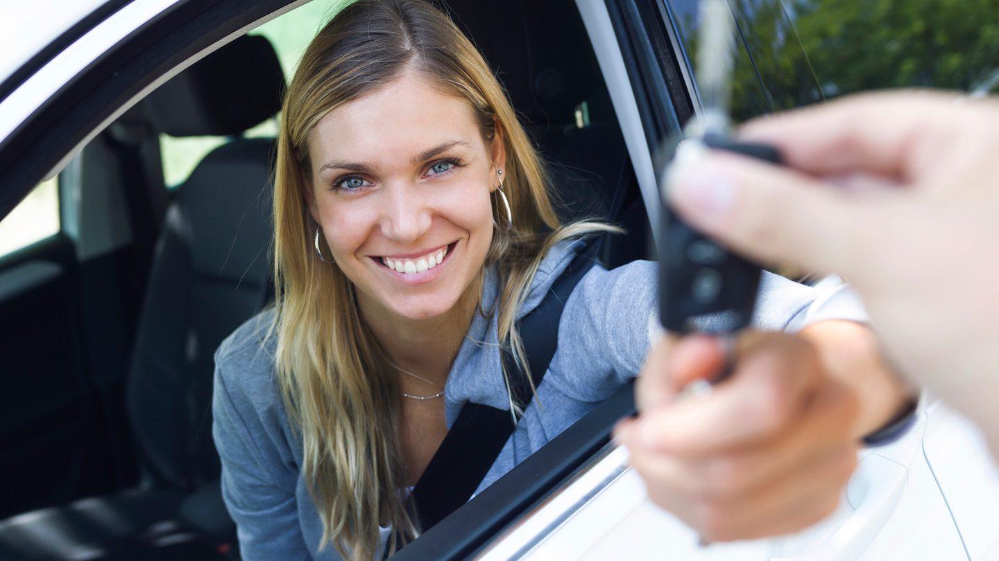 woman-just-bought-car-with-car-loan